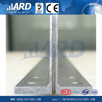 T50/A cold drawn elevator guide rail , elevator parts,personal lift