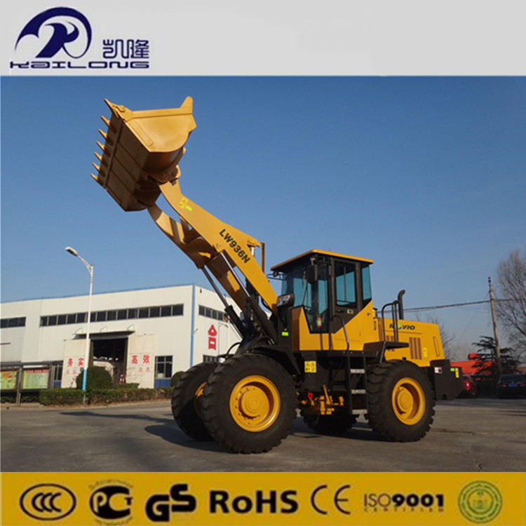 Heavy cargo loading machinery / front end loader / wheel loader for sale