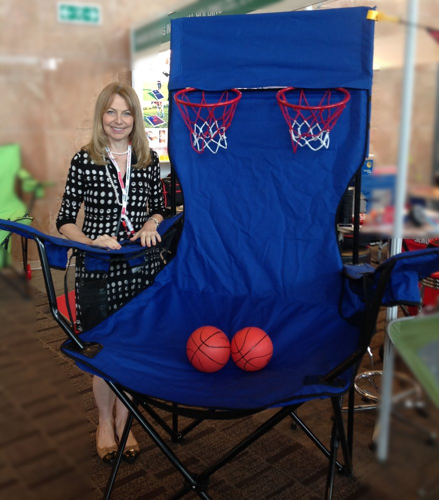 big big blue chair with basketballs buy gaming chairs outdoor