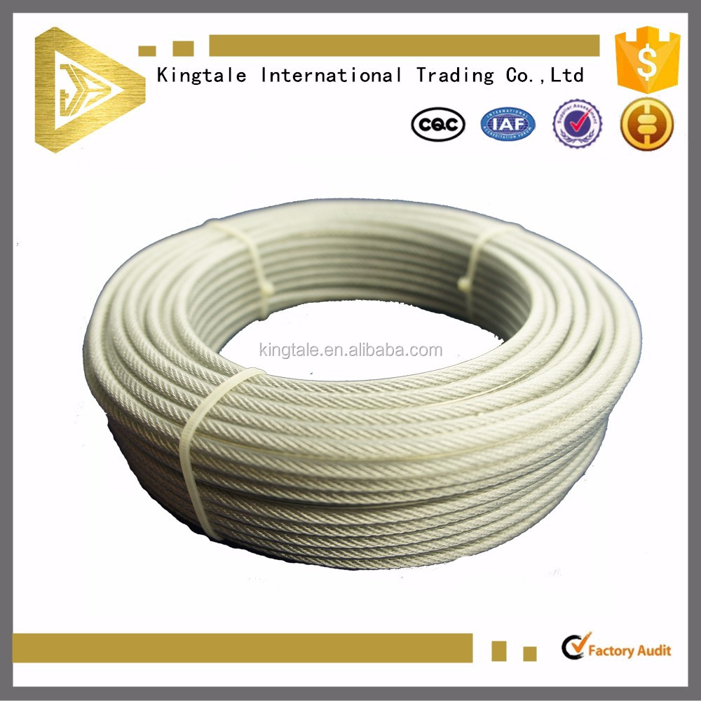 Electric galvanized /hot-dipped galvanized steel wire rope for crane 6mm
