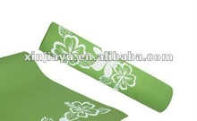 Wholesale retail yoga mats, fitness mats PVC material antibiosis Non-slip pad 6mm exercise mats