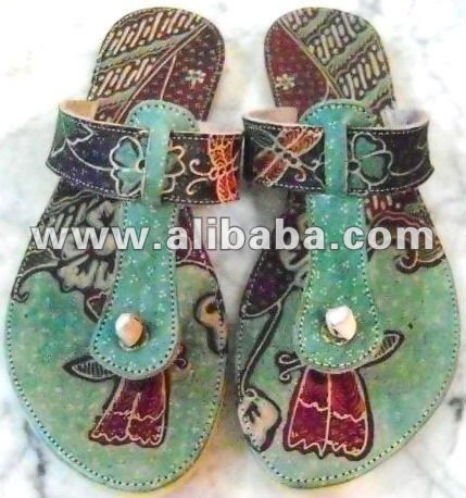 sandals batik indonesia