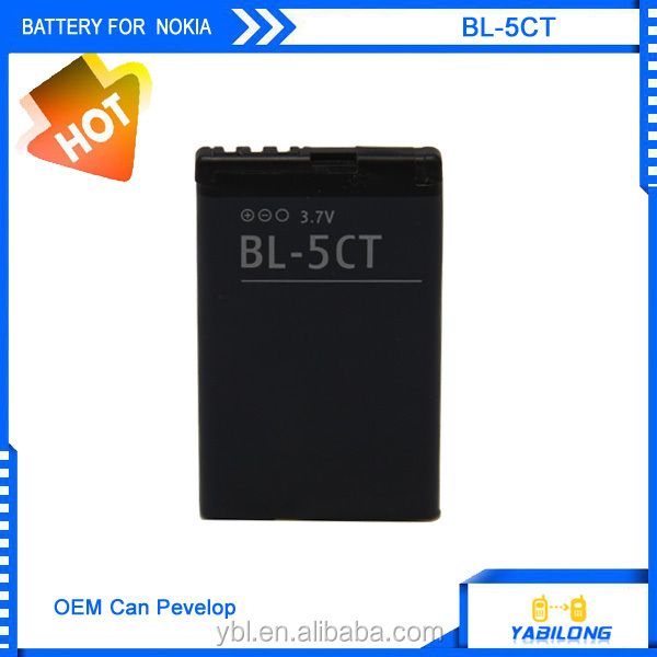 bl 5CT Li-ion 1050mAh for mobile nokia phone battery for BL-5CT