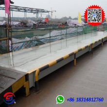 80 Tons Moveable Electronic Weighbridge/truck scale for sale