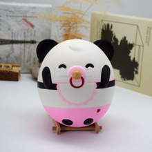 squishy slow rising emoji panda baby cow soft squeeze pu material cheap price toys