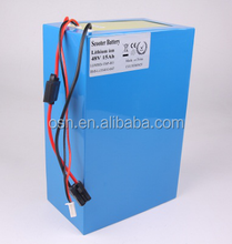 High quality Customized li ion rechargeable battery pack 48V 20Ah for e-bike/electronic scooter