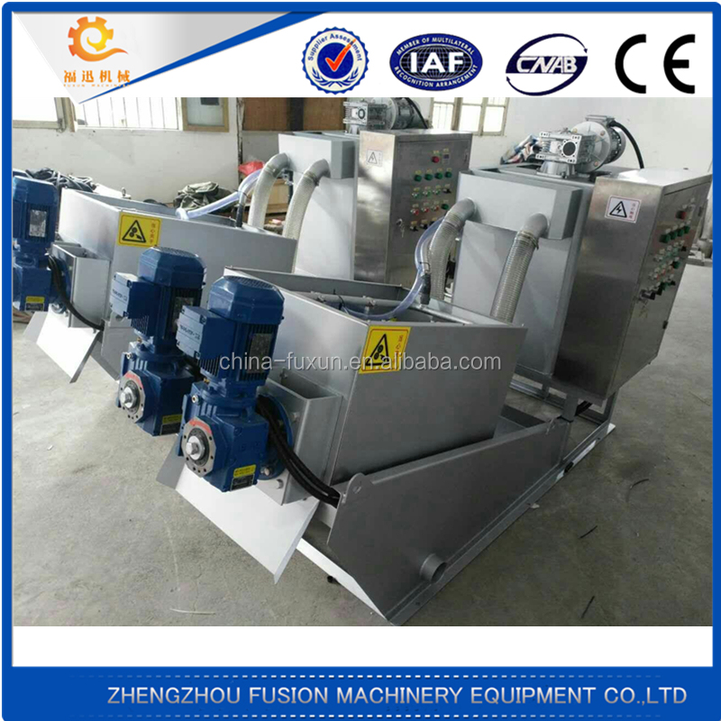 Hydraulic Chamber Filter Press for Ceramic Sludge treatment/wastewater treatment , Sludge Dewatering board