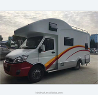 2018 hot sale 6 meter enclosed truck camper van