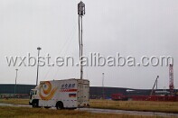 Pneumatic Telescopic Mast-15m Locking Masts for Mobile Telecom Tower Base Station