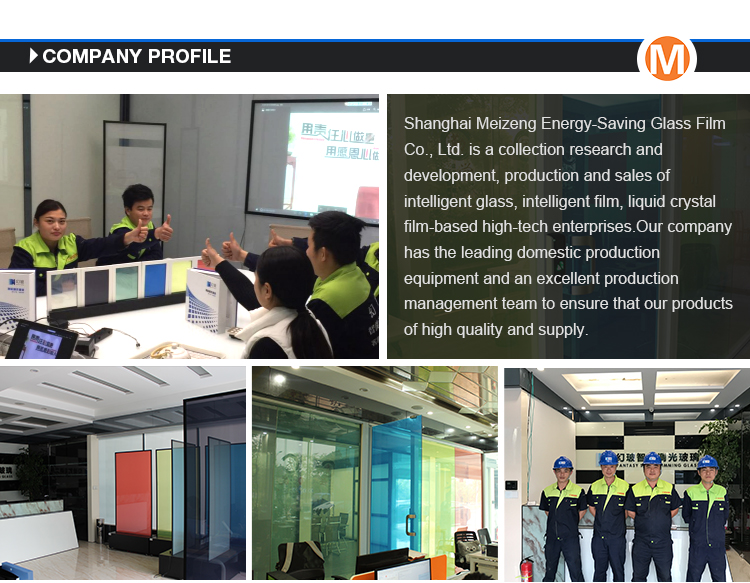 Energy Saving Smart Switchable Glass pdlc Film For Building