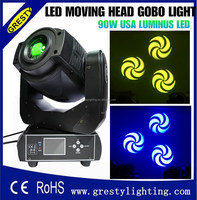 90W LED spot moving head stage light , 90 watt led moving head/stage moving head spot light