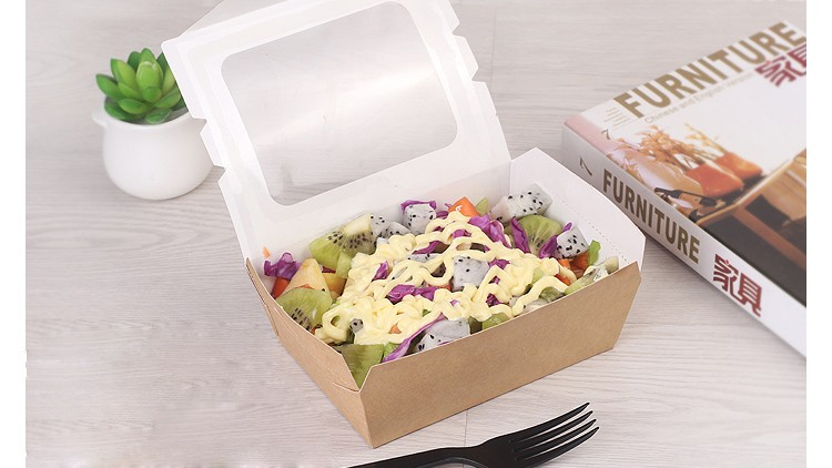 Fast food paper packaging,wholesale paper noodle box design,food paper box
