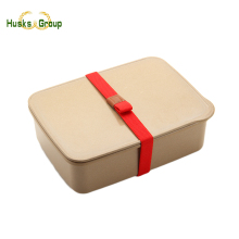 Hot Selling Cheapest Rice Husk Kid Lunch Box Set