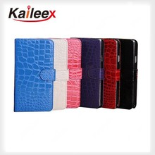 Alibaba China Alligator Pattern flip wallet Leather Case For iphone 5 Alligator Leather Case