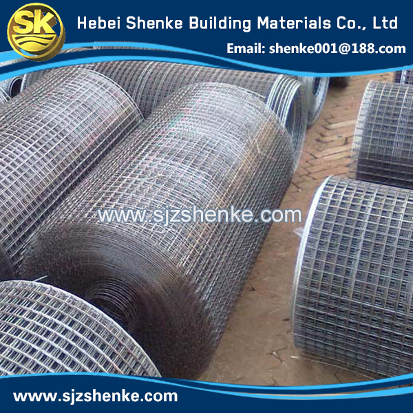 in roll or sheet 2x2 pvc coated welded wire mesh