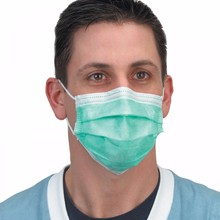 Hospital nurse use 3 ply non woven face disposable face mask with medical surgical protect the mask