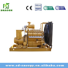 Top quality strong power engine 110kw biogas portable generator