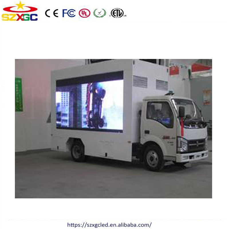 Shenzhen cheap 3535smd rgb advertising panel p8 led display outdoor plasma screen for cars
