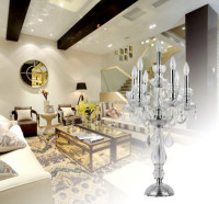 Luxury crystal Chandelier table lamp ETL30007