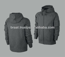 Men's Plain Pullover Windproof Sweatshirt With Hoody Fashion Comfortable Hoodie Fleece Full Sleeve Hoodies