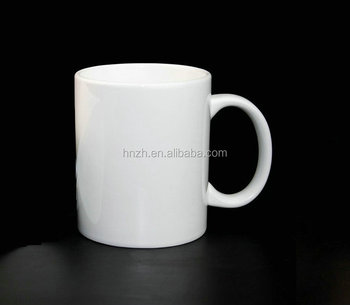 A grade ceramic 11 oz blank orca coatings white coffee mug cup for sublimation
