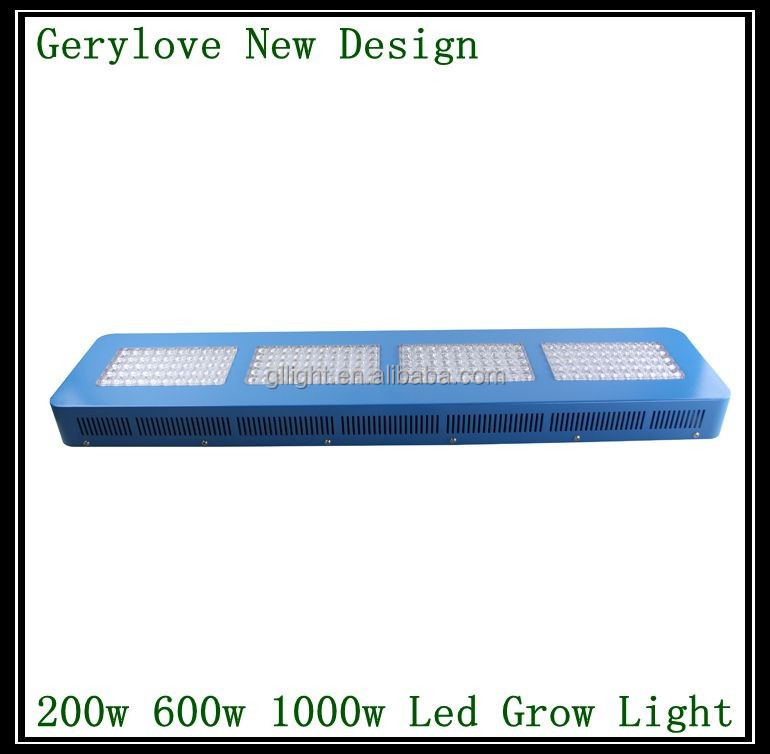 GS NOTE Series vertical led grow light 600w full spectrum led grow lamp with lens