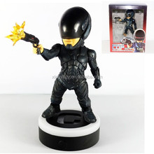 "Movie Robocop Machinery COP 1987 BLACK LED Light-Up 16cm/6.3"" Toy Action figure"
