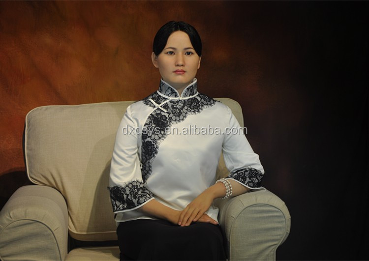 Song Qing Ling Lifelike Full Size Silicone Wax Figure
