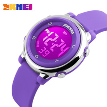 SKMEI china factory cheap children digital watches #1100 silicone material
