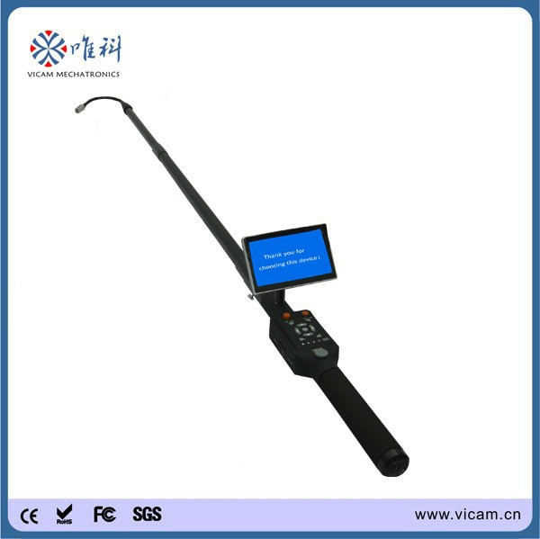 Portable handheld flexible telescoping inspection camera for wall ,under vehicle inspection