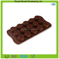 Circle shaped silicone funny candy chocolate mold,silicone molds for chocolate