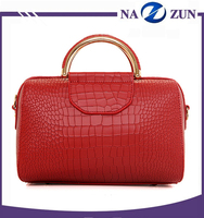 Fashion lady bags from China supplier factory 100% genuine leather woman bags handbag