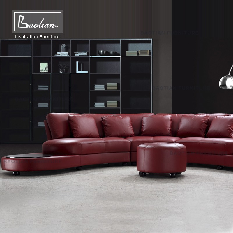 Guangzhou Furniture Leather Living Room Sofas Victorian Style Leather Sofa Fu