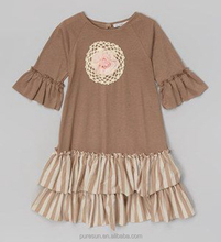 cute low price wholesale cotton baby clothes dress