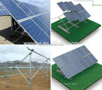 Solar Panel Ground Mounting Structure From Manufacturer
