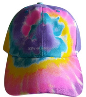 custom dyed pattern sport baseball cap