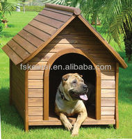 PS wooden dog kennel dog house pet house