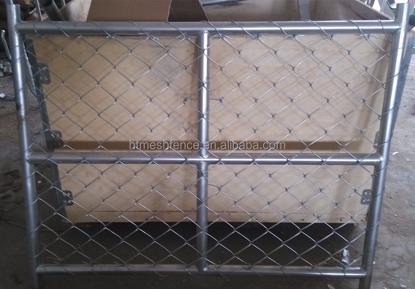 temporary construction temporary fencing Hot galvanized wire mesh fencing 6x12 feet temporary chain link fence panels american