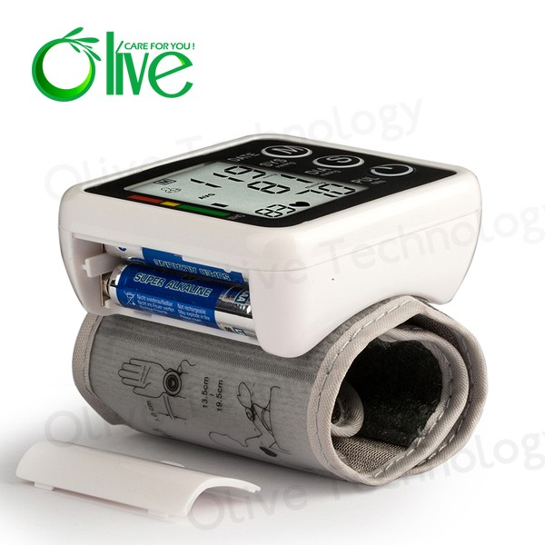 Easy to carry the Upper arm or wrist blood pressure monitor