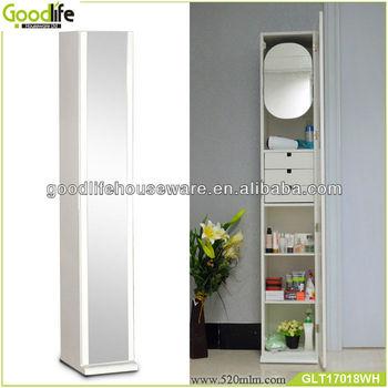Chinese white modern mdf bathroom cabinet