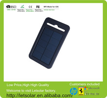 2014 high efficiency compete silicon case, waterproof and crashproof solar charger LET63 for iphone5s 280w solar panel