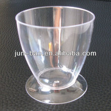 fruit juice wine dessert transparent plastic cup disposible cup