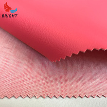 Colourful leather good knitted fabric genuine for car seat