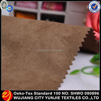 High Quality Fashion Hot Selling Polyester Warp Suede Fabric Factory