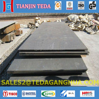 High Manganese steel wearing resistant plate X120Mn12 Mn13 A128