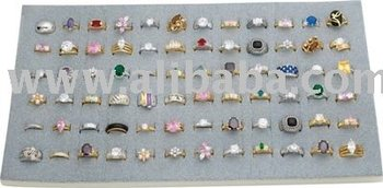 72pc Rings Display Unit