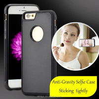 Anti-Gravity Selfie Sticky Case waterproof selfie phone case for samsung factory wholsale