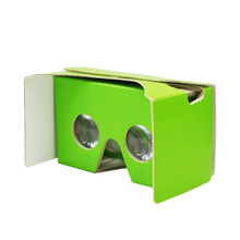 Customized google vr cardboard virtual reality 3d glasses