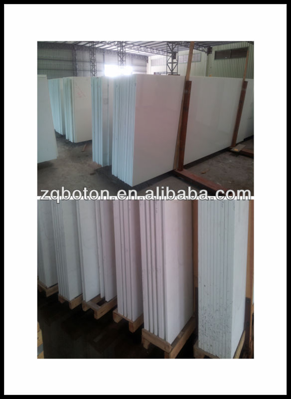 Crystaliized Wall Panel For Exterior Walling Nano Crystal White Building Material Wholesaller