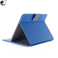 Solid Shockproof Leather Stand Cover For 9-10 inch Tablet Flip Universal Tablet Case